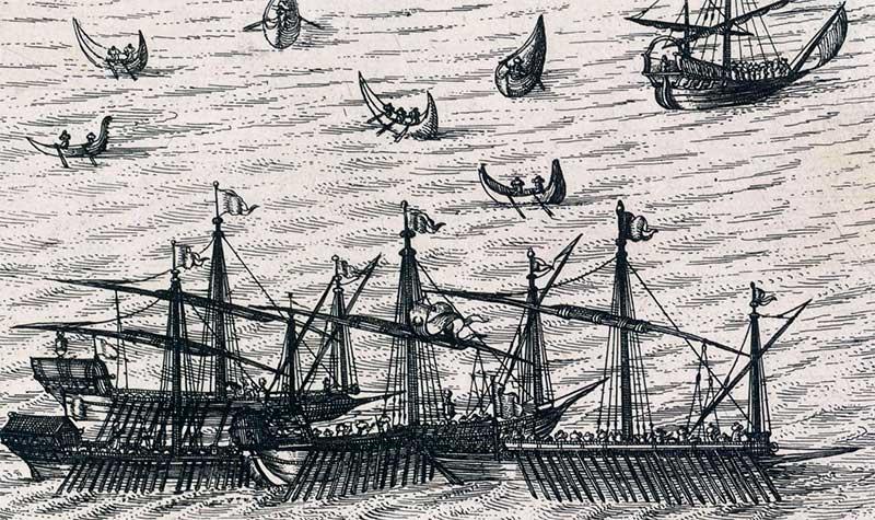 galeras turcas otomanas