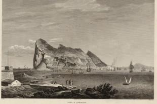 Gibraltar a principio del siglo XIX