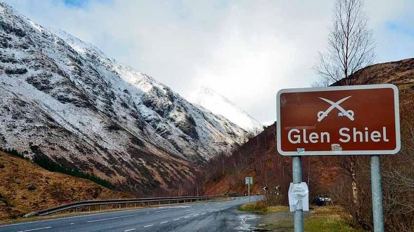 Lugar de la batalla de Glen Shiel