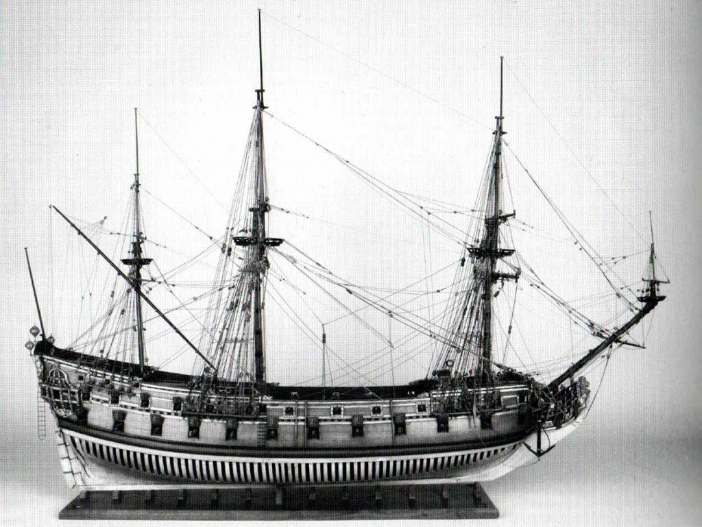 El HMS Taunton era una fragata de cuarta clase de 40 cañones de la Royal Navy, botado en 1654. Debía ser muy parecido al HMS Ruby, que sería después el Rubí de la Real Armada.