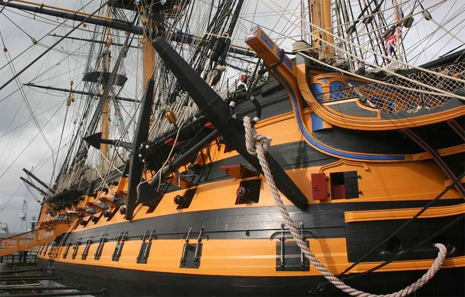 HMS Victory en Porstmouth