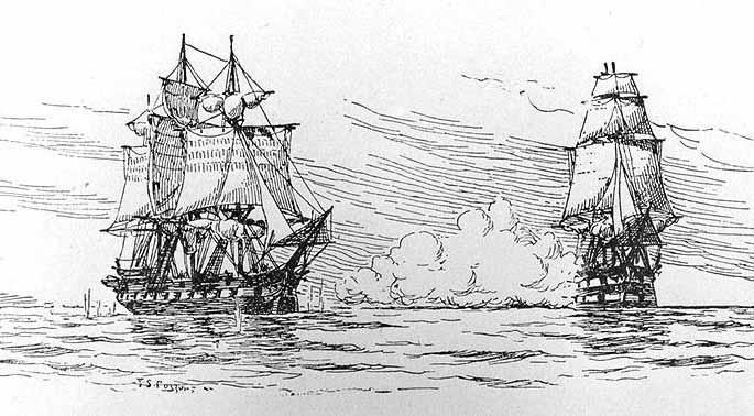 El incidente del HMS Leopard y la USS Chesapeake