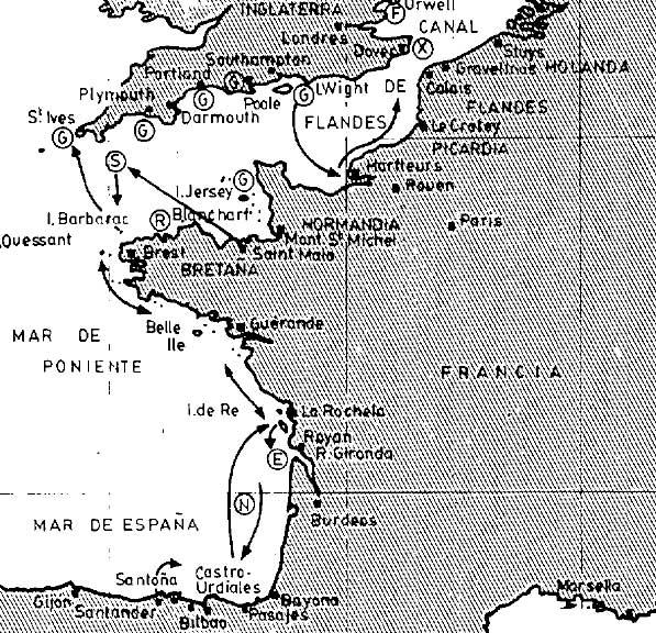 Campaña marítima a Inglaterra de Pero Niño