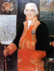 Retrato de José de Córdova y Ramos