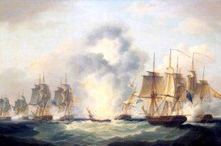 La batalla del Cabo de Santa María, 1804