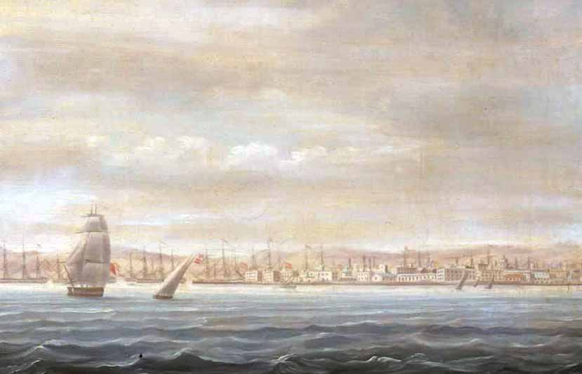 Lancha del HMS Prince George, apresada por los españoles en 1798