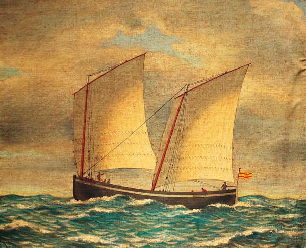 Lancha similar al corsario Espadarte
