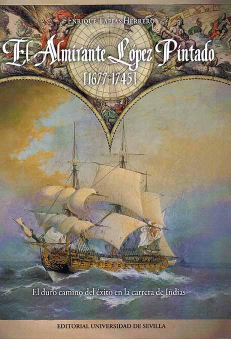 Portada del libro del Almirante López Pintado