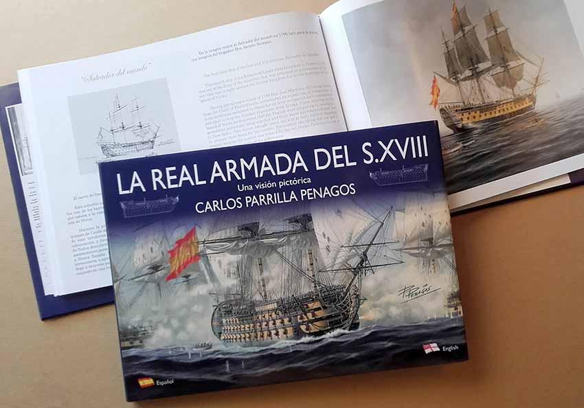 """Libro """"La Real Armada del siglo XVIII"""" de Carlos Parrilla"""
