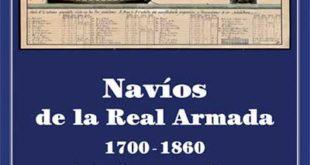 Portada del libro Los Navíos de la Real Armada, 1700-1860. De Enrique García-Torralba Pérez