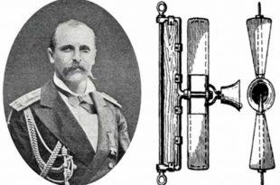 Retrato de Makarov y el fluctómetro