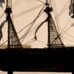 Maqueta de la fragata española Nuestra Señora de la Soledad