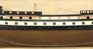 Maqueta del navío Algeciras
