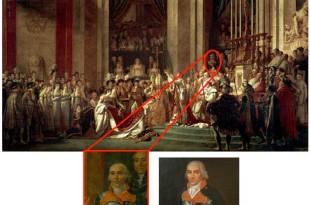 Marino en la coronación de Napoleón