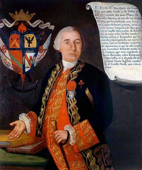 Retrato del marqués de Casa-Tilly, Francisco Javier Everardo-Tilly.