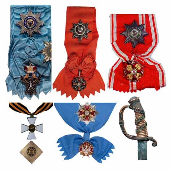 Medallas y premios de von Nassau