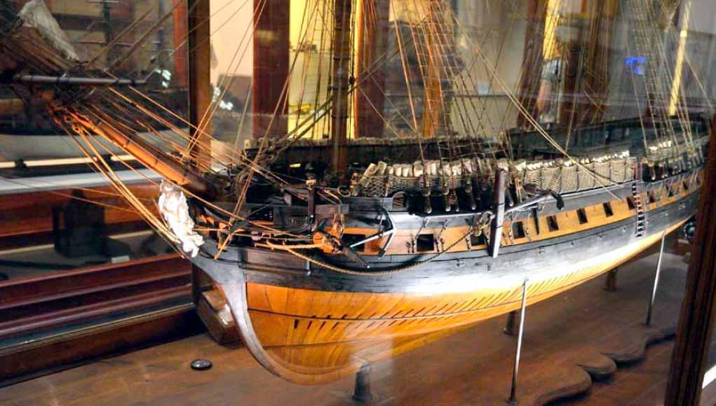 Modelo de la fragata Diana (MNM)
