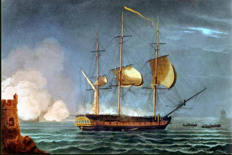 Apresamiento de la fragata Santa Cecilia, ex HMS Hermione
