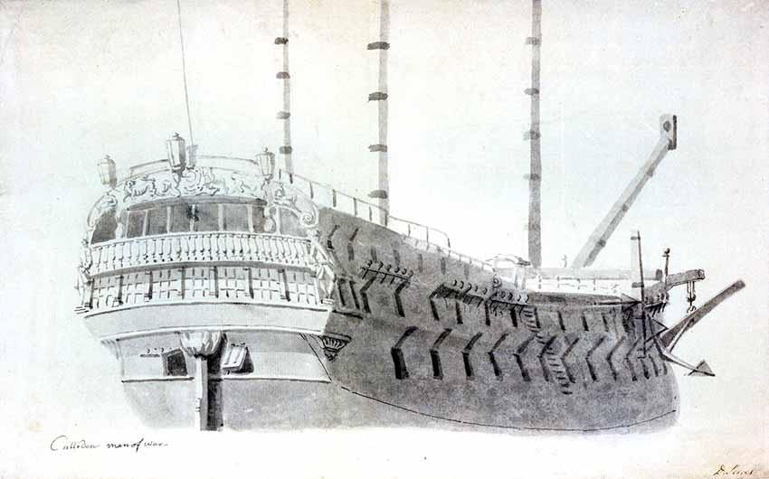 Motín en el navío británico HMS Culloden