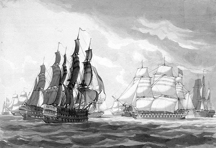 Motín en Spithead 1797