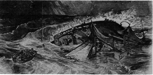 Naufragio del USS Somers