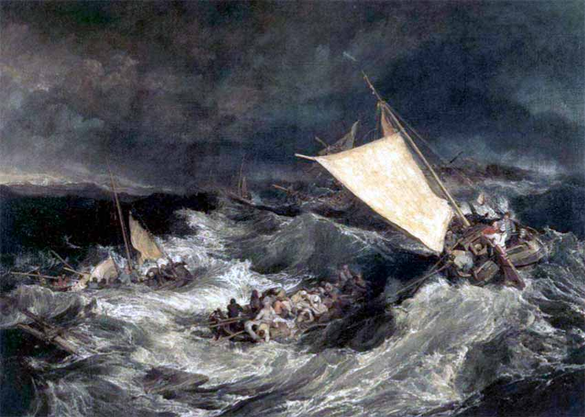 Naufragio, de William Turner
