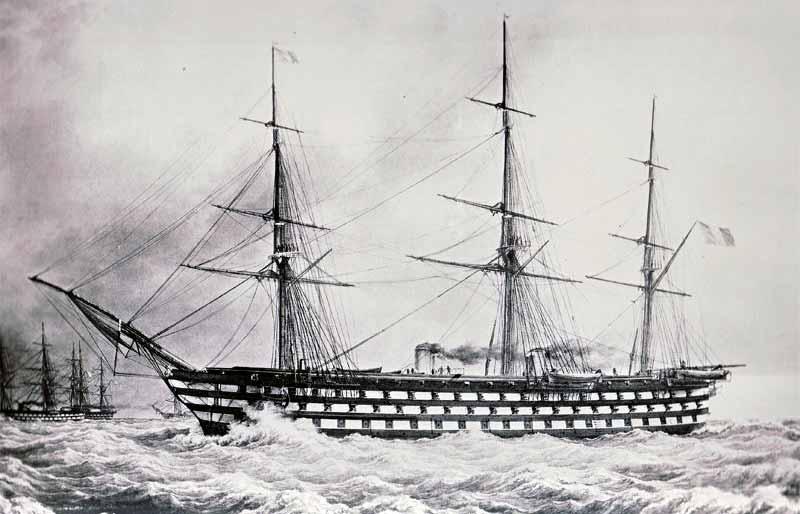 Navío Bretagne de 130 cañones