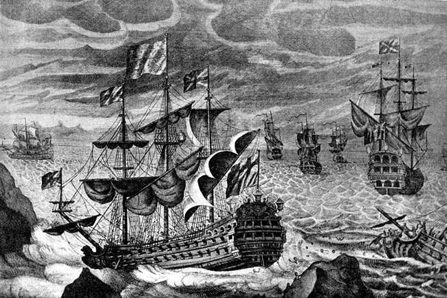 Navío británico de 1707