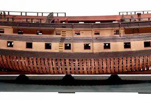 Navío de 58 cañones similar al navío Campeón.