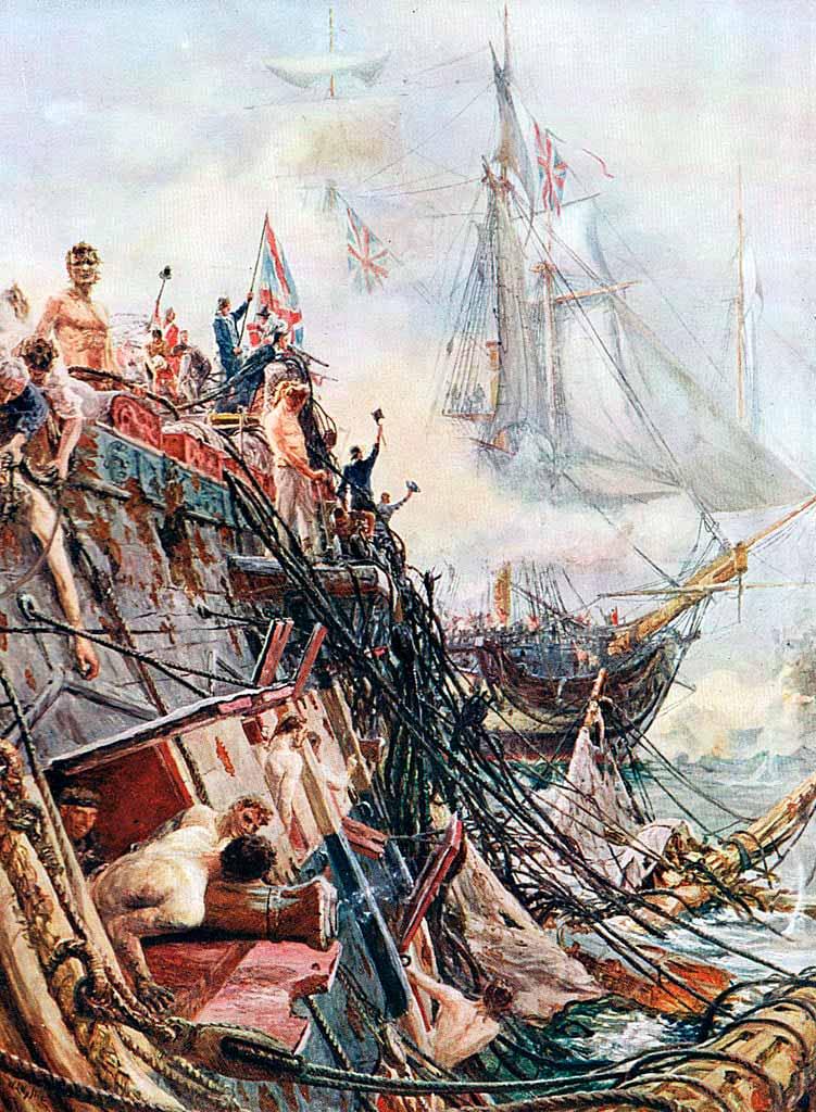 Lisiado pero no conquistado: el Belleisle en Trafalgar el 21 de Octubre de 1805