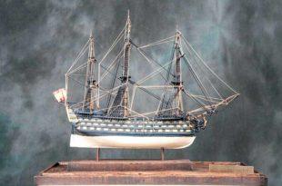 Maqueta del navío Príncipe de Asturias