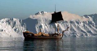 Navío San Telmo en la Antártida en 1819