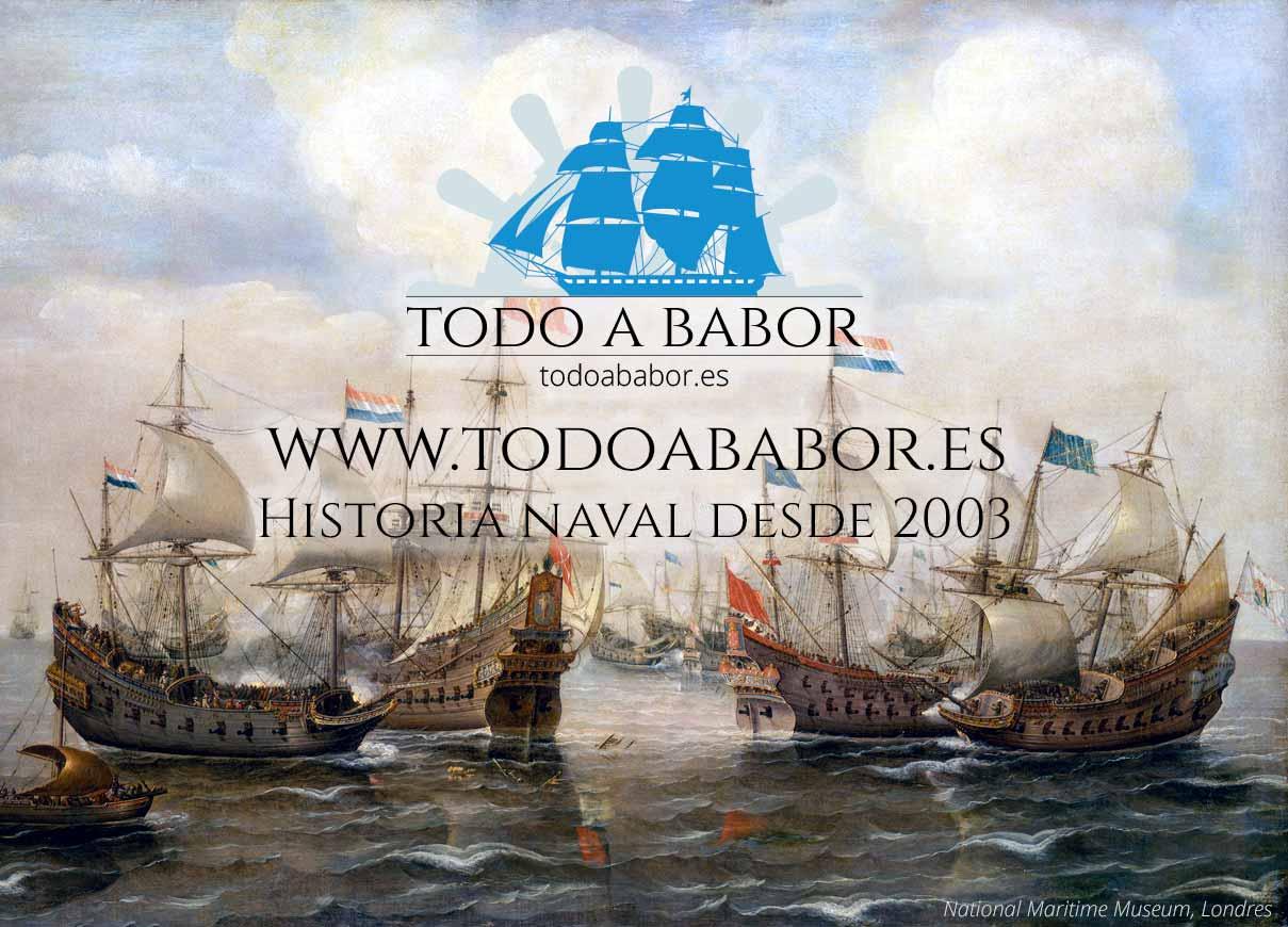 Nuevo logotipo de la web de historia naval Todo a babor