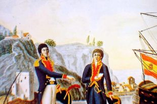 Oficial y guardiamarina de la Armada española.