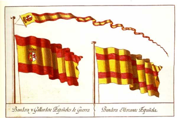 Origen de la bandera española
