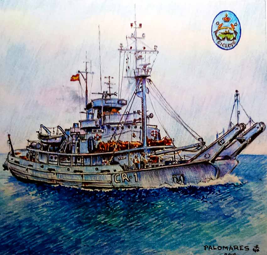 pintura buque CR1