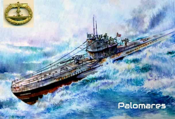 Submarino alemán u-boot 513