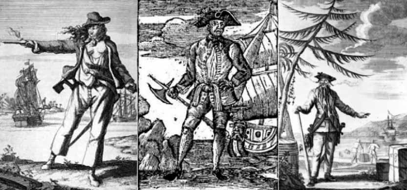 Piratas famosos: CUANDO LA REALIDAD Y LA LEYENDA SE FUNDEN