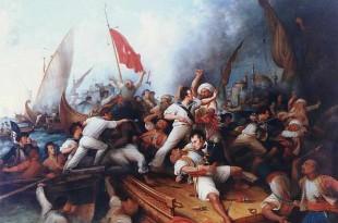 Ataque de piratas moros
