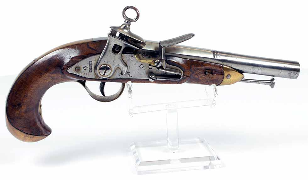 Pistola reglamentaria en la Real Armada, modelo 1802 (1801-1807)