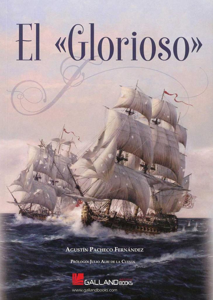 Portada del libro: El Glorioso, de Agustín Pacheco Fernández