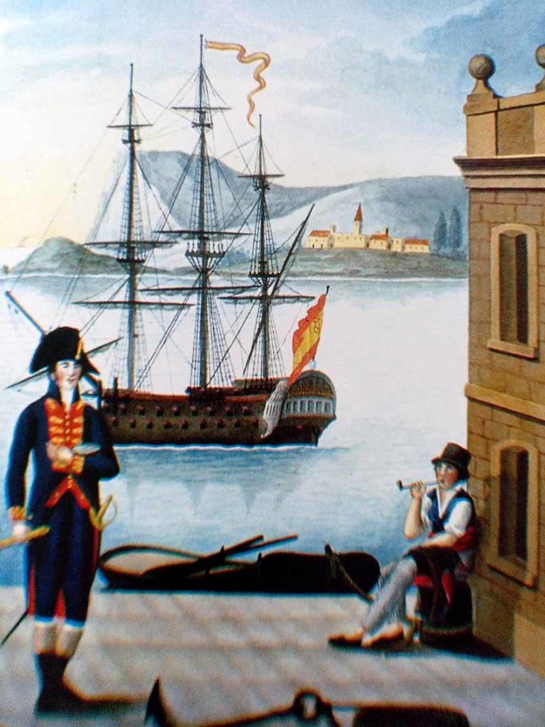 Primer piloto y marinero de la Armada española.