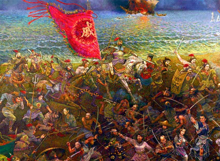 Ejército de Qi Jiguang contra los wako