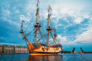 Réplica del navío ruso Poltava