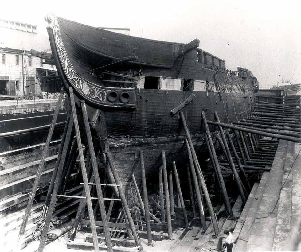Restauración de la fragata USS Constitution