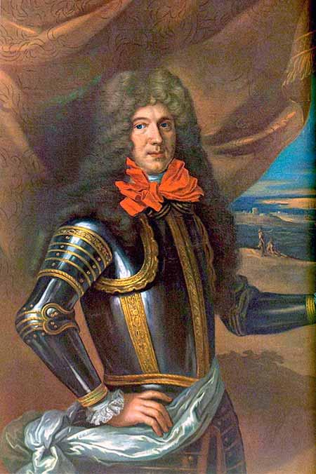 Retrato del conde de Tourville