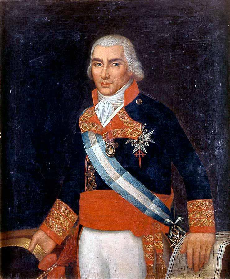 Retrato del marino español Federico Gravina (1756-1814), que fue capitán general de la Real Armada Española y caballero de la Orden de Santiago.