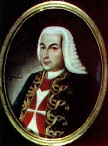 retrato Pedro MMessía de la Zerda