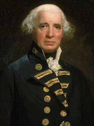 Almirante Richard Howe