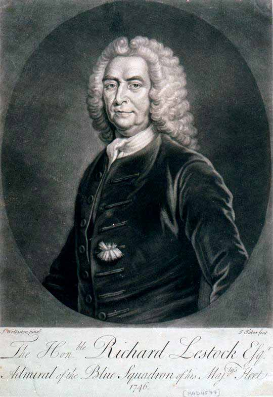 Almirante Richard Lestock